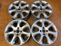"Set of 4 used wheels only Original Ford Fiesta 16"" 4 Stud Used condition"
