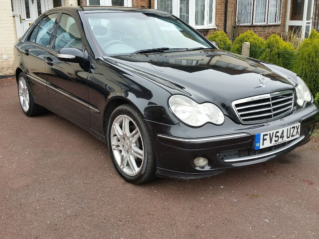 2004 mercedes c220 cdi facelift auto diesel avantgarde in london gumtree. Black Bedroom Furniture Sets. Home Design Ideas