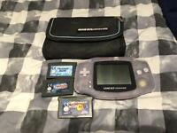 Gameboy advance (ice) games and case