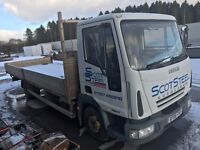 Iveco Dropside Lorry 7500kg