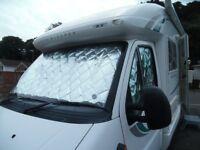 Internal thermal blinds 3 pcs cover: Peugeot motorhome