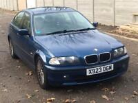 2001 BMW 316I SE LONG MOT STARTS AND DRIVES 318i 320d 330d A4 C220 C180