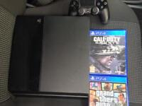 PS4 Console plus games