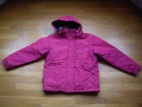 Girl's ski jacket and trousers. Age 11-12