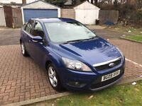 2009 Ford Focus 1.6 TDCi DPF Zetec 5dr Cheap Road Tax MOT History HPI Clear @07445775115@