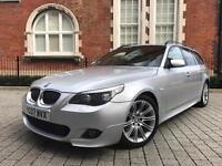 2007 FACELIFT BMW 5 Series 530d M Sport Touring ** 1 OWNER** FULL BMW HISTORY***520d 535d e61