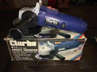 """Clarke 4.5"""" 115mm Angle Grinder"""