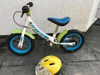 "Carrera Coast Balance Bike - 12"" with Giro Helmet"
