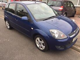 Ford Fiesta 1.4 Zetec climate Automatic 5dr blue
