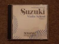 Suzuki Violin School Volume 2 CD