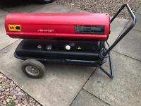 Diesel space heater workshop kerosene