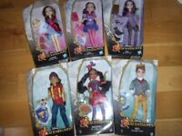 BRAND NEW IN BOXES: 6 x Disney Descendants Dolls; Jane, Mal, Lonnie, Freddie, Ben & Jay