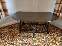 Ercol drop leaf occasional/coffee table
