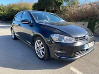 2014 Volkswagen Golf 2.0 TDI GT 5dr DSG Diesel Auto Hatchback NOT DAMAGED hpi clear A3 A4