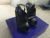 Jimmy Choo H&M Strappy Shoes, size 5 Worn Once