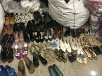 SORTED MIXED SECOND HAND SHOES