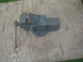 Record 83 Bench Vice for repair as one jaw missing.