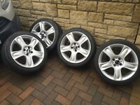 "Mini 5 star 17"" alloys 2007"