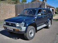 Toyota Hilux Surf, 3.0 Litre V6 Petrol, LPG & Manual , 1992. 4x4 Spares or Repair