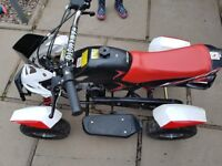 New childrens 49cc petrol quad