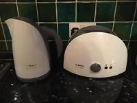 Bosch kettle & toaster