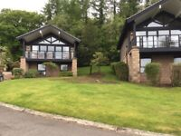 Luxury 3 Bedroom Lodge . Cameron House Resort.