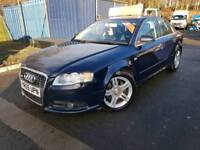 Audi A4 S-line 2.0tfsi, 2005, Finance available, Warranty included, 12 months MOT,Only 66k, FSH