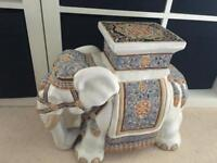 Decorative Elephant Plant Stand/Ornament