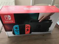 Nintendo Switch Neon (New, Factory Sealed, No Offers)