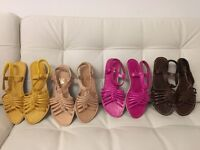 %100 sandals for sale