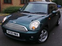 MINI Hatch 1.6 Cooper 3dr£3999 p/x welcome FULL DEALER HISTORY 12 Months warranty included