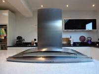 Cooker Hood Extractor - Neff D9970 Stainless Steel