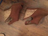 Newlook wedge heel wedges size 7 £15 ono