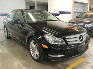 2013 Mercedes-Benz C-Class C 300 4MATIC, SUNROOF, LEATHER, ALLOY
