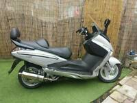 2009 sym 250 GTS voyager low miles, mot service history, delivery