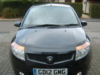 Proton Savvy 1.2, 2012 only 20,650 miles, Ideal First Car, 5 doors , Black Hatchback