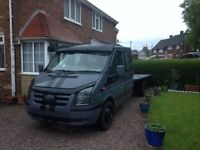 FORD TRANSIT RECOVERY TRUCK ~ 04 PLATE ~ MK7 FRONT END CONVERSION