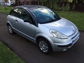 Citroen C3 PLURIEL 1.6 i 16v, AUTOMATIC, 6 MONTHS FREE WARRANTY, 1 year mot,NEW CLUTCH KIT COST £600