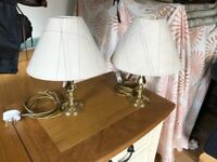 2x Table Lamps