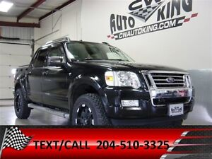 2007 Ford Explorer Sport Trac Limited / Lift / Rubber / Alloys /