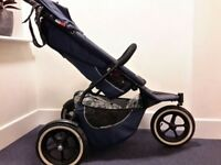::::::: PHIL & TEDS SPORT PUSHCHAIR Midnight Blue :::::::