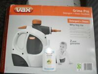 VAX GRIME PRO S4S STEAM CLEANER - NEVER USED - STILL IN BOX
