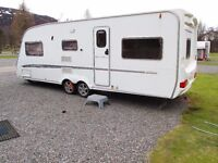 Swift conqueror 650 LUX 2006 5/6 berth Twin Axle caravan