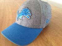 NFL Cap DETROIT LIONS, brand new NEW ERA 39THIRTY headwear