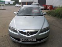 2005 MAZDA 6 2.0 S 5 DOOR HATCH SILVER MANUAL DIESEL