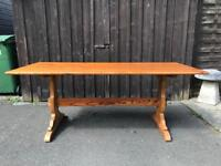 Pine Refectory Dining Table ( Can Deliver )