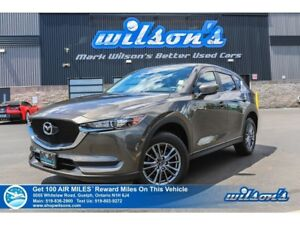 2018 Mazda CX-5 GS | LEATHER | REAR CAM | HEATED STEERING + SEAT