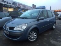 Renault SCENIC 1.6 VVT Dynamique 5dr,showroom condition for its age 3 MONTHS WARRANTY 12 MONTHS MOT