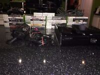 Xbox 360 Kinect + Games and Controller (Games Listed)