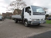 Nissan Cabstar 35.13 MWB Dropside 15ft Long Body Reg 2005